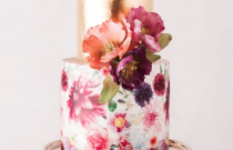 2015 Wedding Trend Alert: Hand-Painted Cakes
