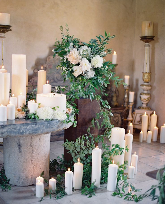 candles-wedding-green-beautiful