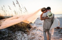 The 10 Most Spectacular Sunset Wedding Photos