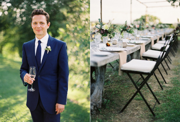 groom-navy-suit-rustic-elegant-reception